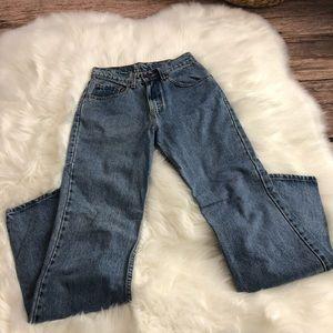 Levi's High Waisted 517 Boot Cut Jeans 7 Medium